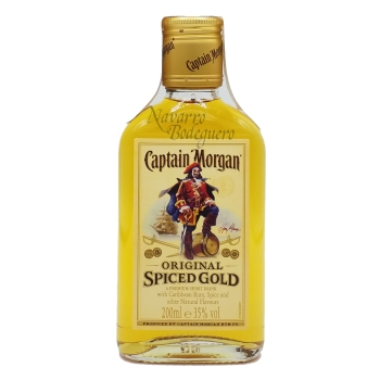 PETACA CAPITAN MORGAN SPICED