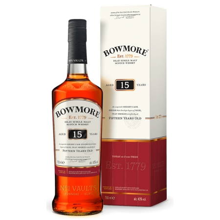 BOWMORE 15 AÑOS SHERRY CASK