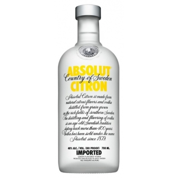ABSOLUT CITRON 1,00